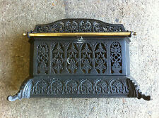 Victorian Cast Iron Tidy Betty Fireplace Fender Hearth Range Grate Fire (PK309)
