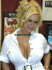 SHYLA STYLEZ 8X12 ORIGINAL PHOTO- 8217- BUSTY LEGEND