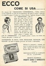W7837 Thermogène - Ecco come si usa... - Pubblicità del 1929 - Old advertising