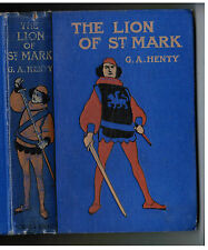 THE LION OF ST MARK (14th Century Venice) Blackie London & Glasgow G.A. Henty