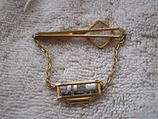 "Vintage Swank Tie Clip with the Initials  ""JLM"""