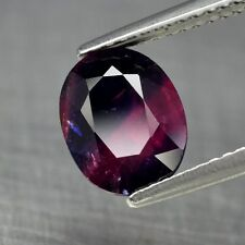 AIGS Certified 3.15ct Oval Natural Unheated Corundum Red Ruby & Blue Sapphire