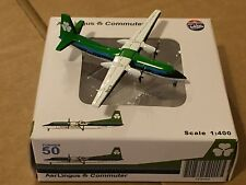 Aer Lingus Fokker 50 EI-FKB Aircraft Model 1:400 Scale JC Wings Gemini Jets RARE