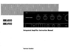 Harman Kardon HK-6800 Receiver Owners Manual