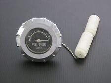 Screw In Gas Cap With Fuel Gauge For  Harley-Davidson, Triumph....