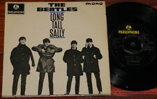 THE BEATLES ~ LONG SALLY ~ UK 4-TRACK Y/B PARLOPHONE EP 1964 ~ 1/1 FIRST PRESS