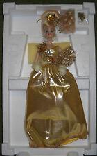 #7780 NRFB Mattel Gold Sensation Porcelain Barbie Doll