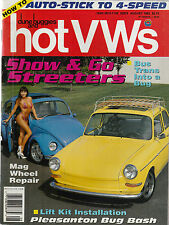 Dune Buggies & Hot VWs Aug 1992 - Body Lift Kit - Mag Wheel Repair - Trailering