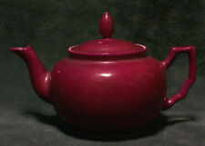 CINA (China): Old Chinese porcelain red Teapot