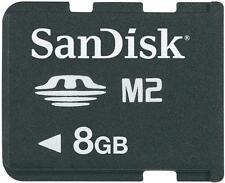 Original SanDisk M2 Micro Speicherkarte 8 GB für Sony Ericsson C702 NEU ✔ (161)