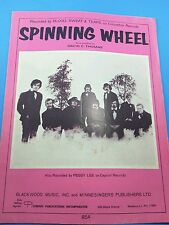 Vintage Sheet Music - Spinning Wheels - David Thomas