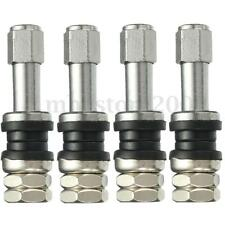 4x Car Auto TR43E Metal Clamp-in Tubeless Tyre Tire Wheel Schrader Valves