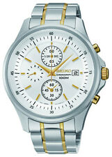 SCNP SNDE23P1 Seiko Gents Two Tone Chronograph Watch