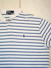 Ralph Lauren Polo Golf Golfing Striped Collar T Shirt 2XL