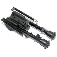 "Six Position Airsoft Spring Loaded Rifle Bipod 6""-9"""