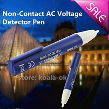 Electric Voltage Detector Non-Contact 90~1000V AC Tester Test METER Pen OY
