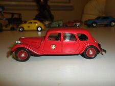 DUBRAY RED CITROEN 11B MADE IN FRANCE & MADE OF PLASTIC EXCELLENT CONDITION