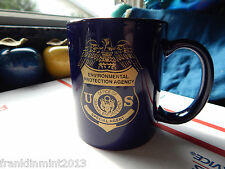 U.S. E.P.A. SPECIAL AGENT OFFICE OF CRIMINAL ENFORCEMENT COFFEE CUP-NAVY BLUE
