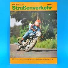 Der Deutsche Straßenverkehr 5/1982 Skoda 105 L Mazda 323 60 Jahre Zschopau MZ G