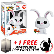 FUNKO POP SECRET LIFE OF PETS SNOWBALL VINYL FIGURE WITH FREE POP PROTECTOR