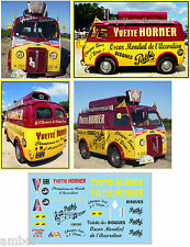 TOUR DE FRANCE 55 DECALCOMANIES DECORATION PEUGEOT D4A YVETTE HORNER AU 1/43
