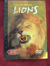 NATURAL  KILLERS, PREDATORS CLOSE UP ( LIVING WITH LIONS )  DVD AND BOOK  SET