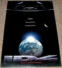 ALIEN INVASION CLASSIC! 1996 ORIG. 27x40 STYLE A MOVIE POSTER! INDEPENDENCE DAY