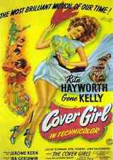 Film Cover Girl 01 A3 Box Canvas Print