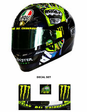 Valentino Rossi - Replica Visor Sticker Set - Monster Style