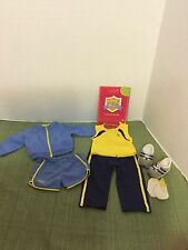 "American Girl 18""Doll Clothes 2010 Running/Joging Outfit Jacket Short Shoe/Socks"