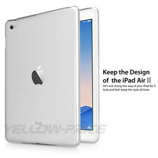Shockproof Anti-Dust Thin Fit [Corner Protection]Soft Rubber Case for iPad Air 2