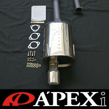 Apexi World Sport 2 Cat-Back Exhaust System -WS2- 94-01 Acura Integra Type-R DC2