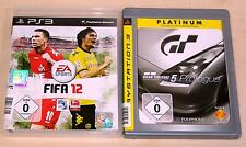 2 PLAYSTATION 3 SPIELE SET - FIFA 12 & GRAN TURISMO 5 PROLOGUE - PS3