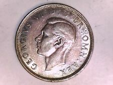 1939 GEORGIVS VI D:G BR: OMN: REX HALF CROWN COIN (GREAT)