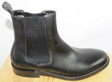 AUTH $995 Gucci Men Black Leather Ankle Boot gucci 6.5/US7