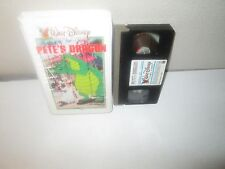 Disney's PETE'S DRAGON rare 1ST PRINT Collectable White Clam vhs HELEN REDDY