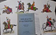 1er Empire L. Rousselot Soldats d'autrefois LES MAMELUCKS 1801-1814 6 planches