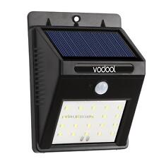 20 LED Solar Power PIR Motion Sensor Wall Light Outdoor Garden Waterproof Lamp