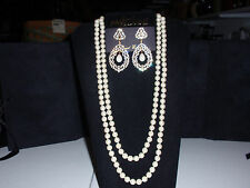 "Park Lane Jewelry ""MATINEE"" Necklace & ""FOREVER YOURS Earrings,  New!!!"