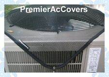 PremierAcCovers Leaf Guard - Summer Top Air Conditioner Cover - Blk - 36x36