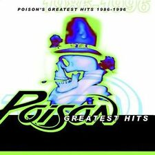 1 CENT CD Poison's Greatest Hits 1986-1996 - Poison SEALED/'80s METAL/+DVD