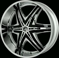 "28"" Inch CHROME Diablo Elite Wheels Rims Wheel 22 24 26 30 32 Hummer H2"