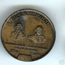 old coin medallion KENTISH GUARDS Bicentennial