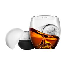 Final Touch On The Rock Glass Ice Ball Mold Liquor Scotch Whiskey Barware Tools