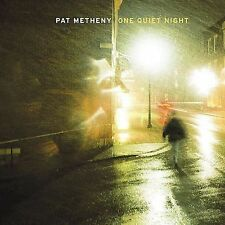 PAT METHENY  One Quiet Night  (CD)  Solo Baritone Guitar   Nonesuch