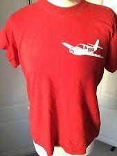 """Camiseta rojo brillante con el logotipo de fibra de gran festival 38"""""""