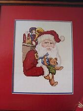 For You Christmas Santa  OOP Magazine Cross Stitch PATTERN