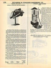 1951 ADVERT Rotary Airdraulic Car Auto Automobile Lift Gas Garage Station Lifts