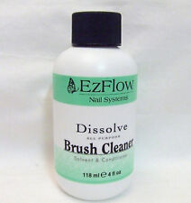 Ezflow Nail Acrylic Gel Brush Cleaner 4oz/120ml
