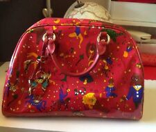 Piero Guidi Magic Circus Borsa Rossa Lucida Listino 199€ Mod Grande